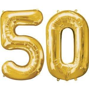 Número 50 Dorado gigante de Cluster 34