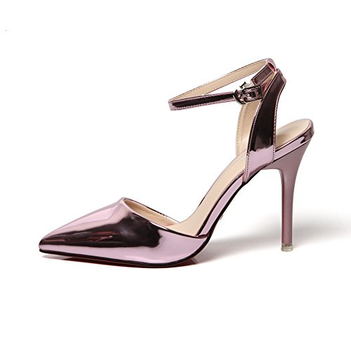EU Sconosciuto Purple Sandali con Viola Zeppa 1TO9Mmsg00024 35 Donna AB8pHvA