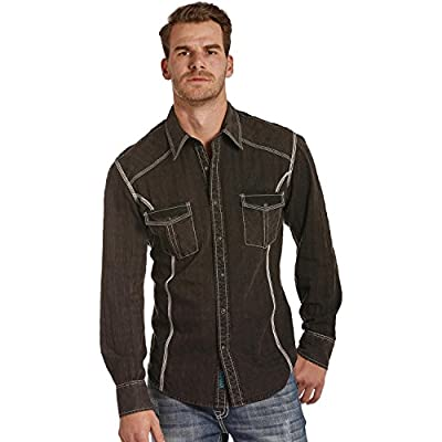 Rock and Roll Cowboy Men's and Satin Western Shirt - B2s4119 hot sale