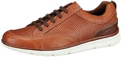 Dockers Erkek Bağcıklı Ayakkabı, Kahverengi, 40