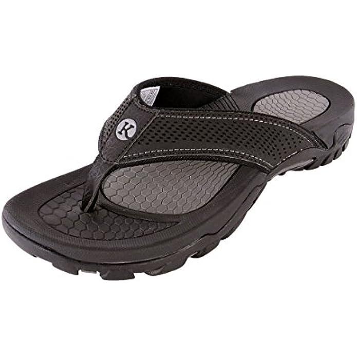 Kaiback Women's Lakeside Sport Flip Flop Sandal - Women's Comfort Footwear