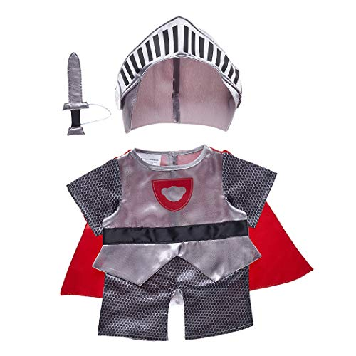Build A Bear Workshop Online Exclusive Knight in Shining Armor Costume Set 3 pc. -