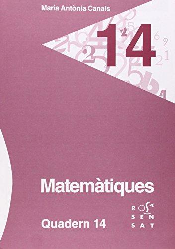 Descargar Libro Matemàtiques. Quadern 14 Maria Antònia Canals
