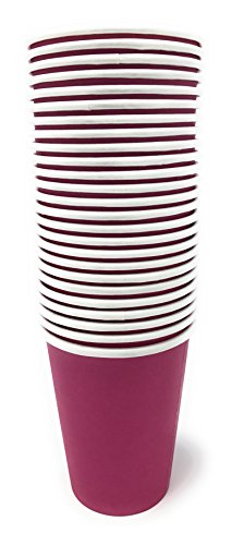 Red Paper Cups 25 pc
