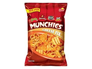 Rold Gold Munchies Cheese Fix Snack Mix, 15.5Oz Bag (7 Pack)