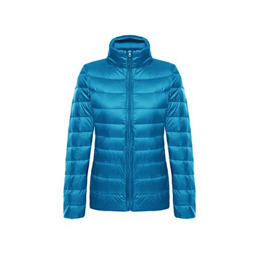 Chaud Veste 1 Lac Gilet Femmes Bas Mode De Femme Canard Kaiyei La Hiver Manteau Bleu UAFqwp