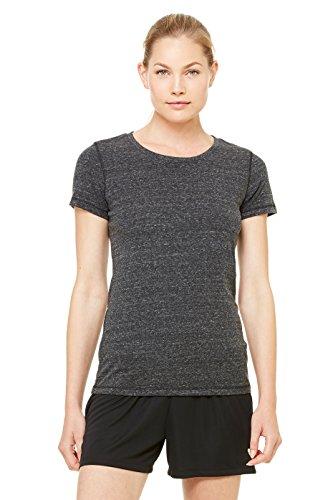 Zara Yoga Studio |LA| Sport Women's Performance Triblend Short Sleeve Tee (Medium /Charcoal Heather - Northbrook Court