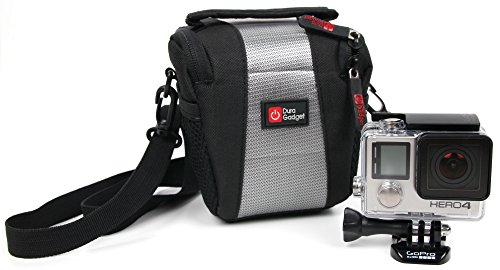 DURAGADGET Stylish Water-Resistant Case with Extra Accessory Space for New GoPro HERO 4