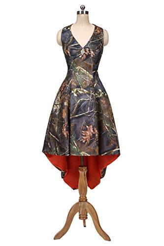 formal camouflage wedding dresses - 7