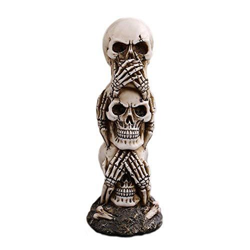 Labu Store Halloween Scary Skull Doll Haunted House