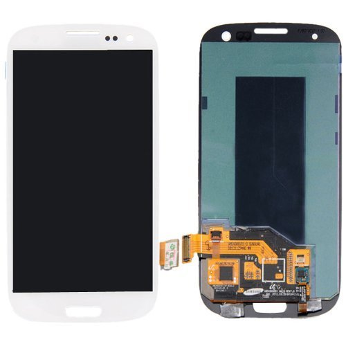 White FOR SAMSUNG GALAXY S3 T999 I535 I747 LCD TOUCH DIGITIZER ASSEMBLY+TOOLS (Samsung Galaxy S3 Verizon Lcd)