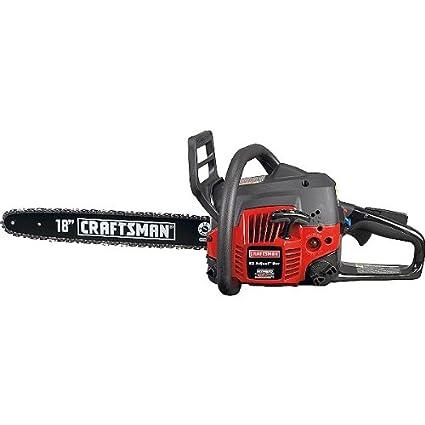 amazon com craftsman 35190 42cc 18 gas chain saw power chain rh amazon com Old Homelite Chainsaw Parts Homelite Chainsaw Parts Only