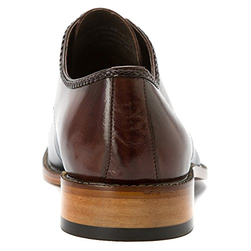 Stacy Adams Mens Brayden Oxford Brown/navy ZHxAvut