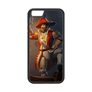 iPhone 6 Plus 5.5 Inch Cell Phone Case Black League of Legends Toy Soldier Gangplank PD5320878