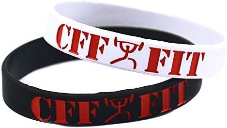 Hjyi Courroie de Main Silicone Bracelet diabète Avertissement Set de 2 pièces