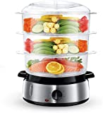 Food Steamer For Cooking, 800W Electric Vegetable