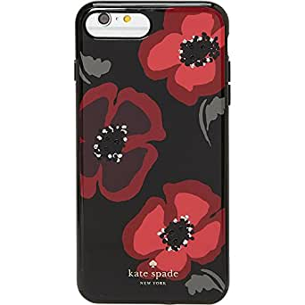 kate spade new york Jeweled Poppy iPhone 7 Plus Case (Black Multi)