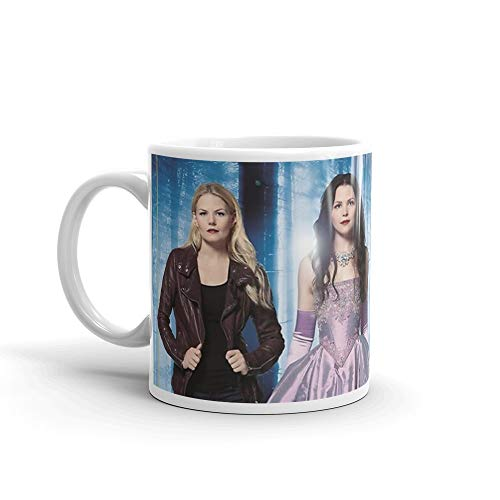 Once Upon a Time Mug 11 Oz White Ceramic (Once Upon A Time Hook And Belle)