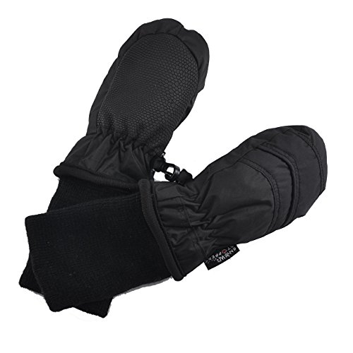 SnowStoppers Kid's Waterproof Stay On Winter Nylon Mittens Extra Small / 6-18 Months -
