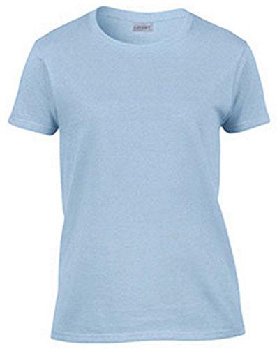 Gildan Ultra Cotton Ladies' T-Shirt, Light Blue, X-Large