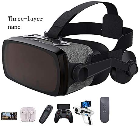 バーチャルリアリティのメガネ 3Dメガネ 110°の視野角、 に適しています 4.7-6.0インチ IOS/Android 携帯電話,Package9