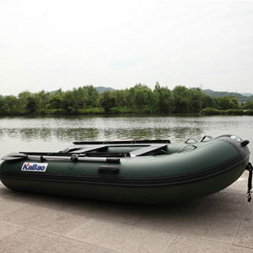 HYYQG Inflatable Kayak,Sea Fishing Kayak Accessories Aluminum Alloy Paddle Air Pump Kit Bottom Plate Bag 2+1person