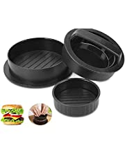 Burger Patty Maker, Burger Press, 3-in-1 Stuffed Burger Press, Burger Patty Mold,Meat Pie Combo Meat Press Burger Print for BBQ Grill Barbecue and Kitchen Tool
