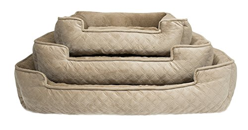 Arlee 59-01005CLS Cuddler Lounger and Cuddler Pet Bed, Large/X-Large, Cobblestone Taupe by Arlee (Image #3)
