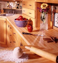 John Boos Hard Rock Maple Counter Tops, 24W x 25D by John Boos