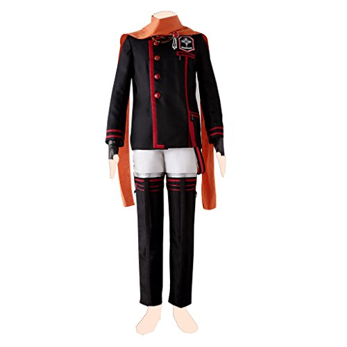 [D.gray-man cosplay costume Lavi Ver.3 Suits X-Large] (Lavi D Gray Man Cosplay Costume)