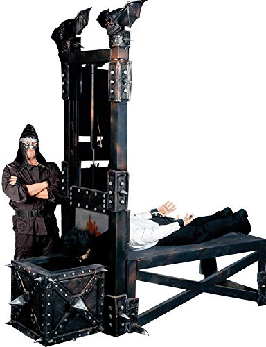BACK FROM THE GRAVE Guillotine Machine Haunted House Halloween Prop - Execution Character