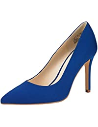 Stiletto High Heel Shoes for Women: Pointed, Closed Toe Classic Slip On Pearl Dress Pumps