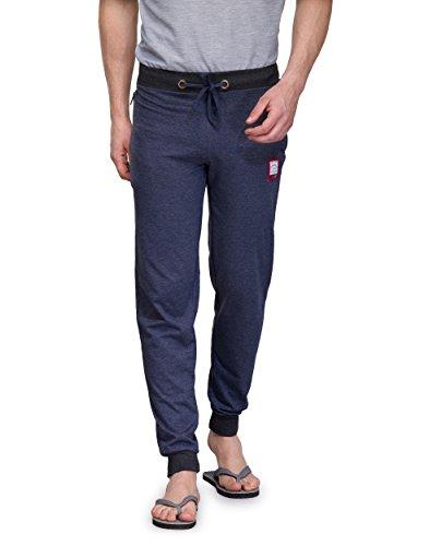 TSX Men's Cotton Trackpant TSX-PYJAMA-RIB-BLUE-L