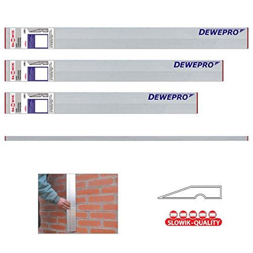 3 tlg. Set - Aluminium Trapez Kartätsche - Abziehlatte - Richtscheit - Putzlatte - Längen: 100cm, 150cm und 200cm (1m, 1,5m und 2m)