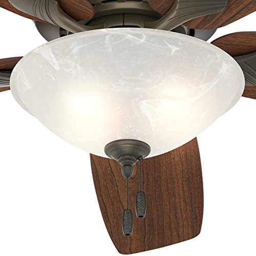 "Best Ceiling Fan For Large Great Room: Hunter Fan 60"" Great Room Ceiling Fan In New Bronze With"