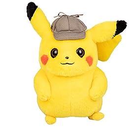 Detective Pikachu Plush | 8 Inch | Pokemon Movie Plush 7