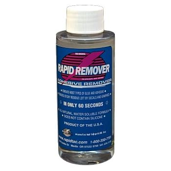 Amazoncom RAPID REMOVER Adhesive Remover For Vinyl Wraps - Boat decals and stripes   easy removal