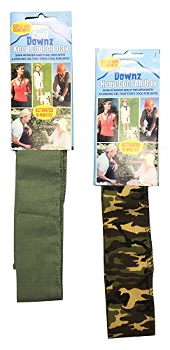Cool Downz Cooling Neck Wraps 10 Pack