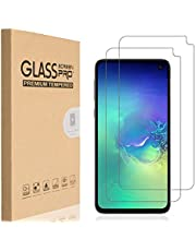 HEYUS [2 Pack] Samsung Galaxy S10E Screen Protector, 9H Hardness Premium Tempered Shatterproof Case Friendly Glass Screen Protector Film with Easy Bubble-Free Installation for Samsung Galaxy S10E