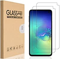 HEYUS [2 Pack] Samsung Galaxy S10E Screen Protector, 9H Hardness Premium Tempered Shatterproof Case Friendly Glass Screen...