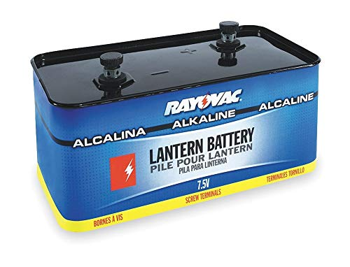 Rayovac Lantern Battery, Voltage 7.5, Screw Terminal Type - 803 (Lantern Terminal Screw)