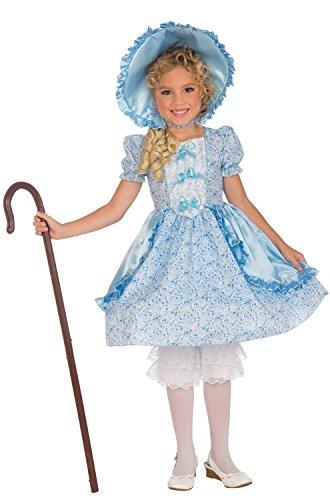 Forum Novelties Girls Lil' Bo Peep Costume, Medium, One Color