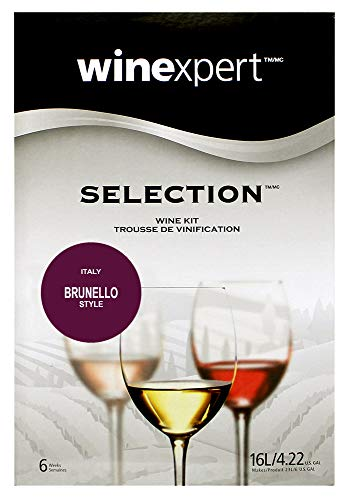 Brunello Italian Wine - Winexpert Selection International Italian Brunello Wine Kit