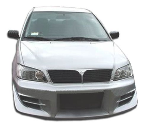 Frp Walker - Duraflex ED-VAI-267 Walker Front Bumper Cover - 1 Piece Body Kit - Compatible For Mitsubishi Lancer 2002-2003