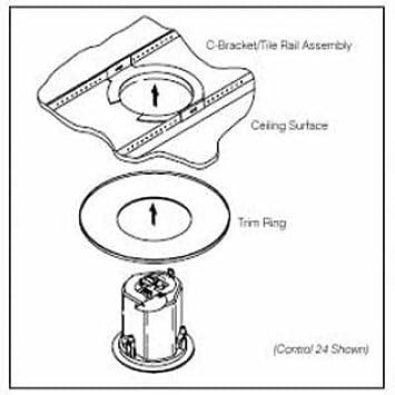 Jbl Mtc 26tr Trim Ring For Control 26cct 10pk