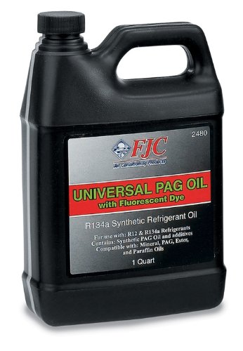 FJC 2480 PAG Universal Oil with Fluorescent Leak Detection Dye (1 (Universal Oil)