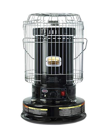 Dyna-Glo WK24BK 23,800 BTU Indoor Kerosene Convection Heater, Black - Indoor Black Heater