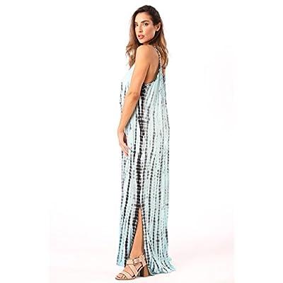 Riviera Sun Tie Dye Spaghetti Strap Maxi Dress at Women's Clothing store