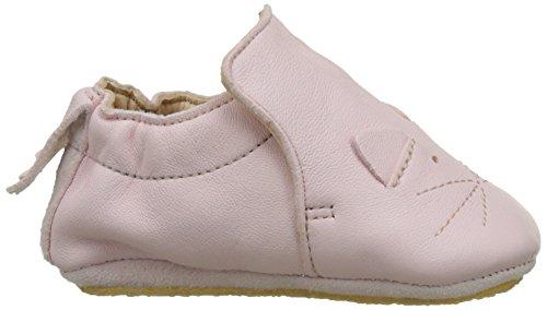 Easy Peasy Blublu Chat - Zapatillas de casa Bebé-Niños Pink (rose pale/blanc)