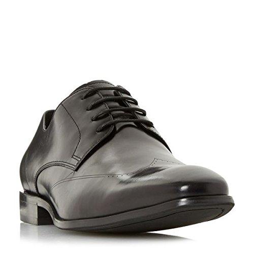 デューン シューズ スニーカー Puyol Laser Wingtip Lace Up Shoes black [並行輸入品] B079BXLZCF